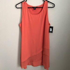 Orange Alfani Sleeveless Top